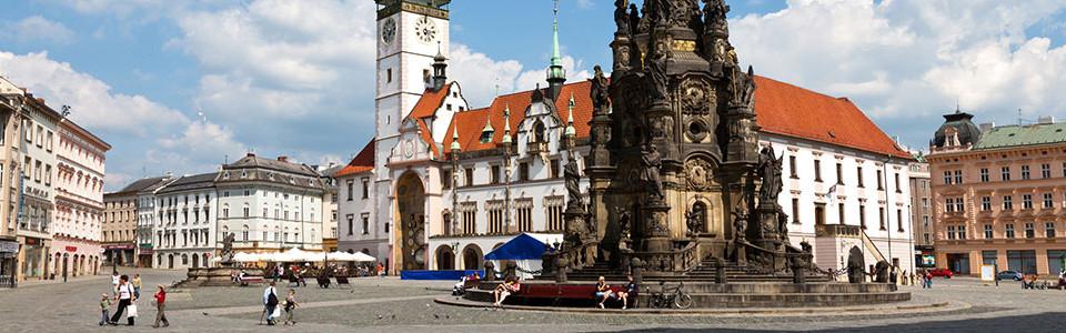 Olomuc city center