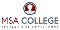 MSA College logo