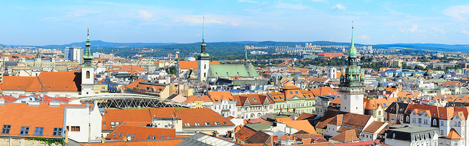 Brno city overview